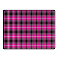 Cell Background Pink Surface Double Sided Fleece Blanket (small)  by Simbadda