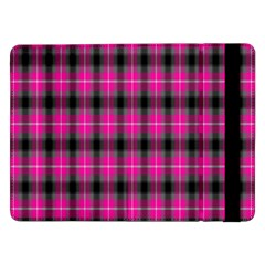 Cell Background Pink Surface Samsung Galaxy Tab Pro 12 2  Flip Case by Simbadda