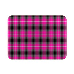 Cell Background Pink Surface Double Sided Flano Blanket (mini)  by Simbadda