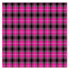 Cell Background Pink Surface Large Satin Scarf (square) by Simbadda