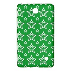 Green White Star Line Space Samsung Galaxy Tab 4 (7 ) Hardshell Case  by Alisyart