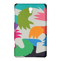 Hand Rainbow Blue Green Pink Purple Orange Monster Samsung Galaxy Tab S (8 4 ) Hardshell Case  by Alisyart