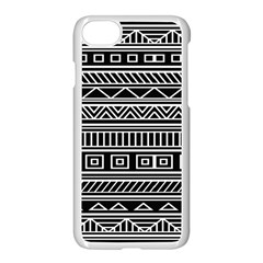Myria Wrapping Paper Black Apple Iphone 7 Seamless Case (white) by Alisyart
