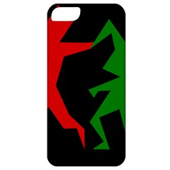 Ninja Graphics Red Green Black Apple Iphone 5 Classic Hardshell Case by Alisyart