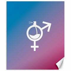 Perfume Graphic Man Women Purple Pink Sign Spray Canvas 20  X 24   by Alisyart