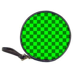Plaid Flag Green Classic 20 Cd Wallets by Alisyart