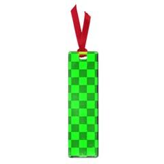 Plaid Flag Green Small Book Marks by Alisyart