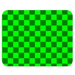 Plaid Flag Green Double Sided Flano Blanket (medium)  by Alisyart