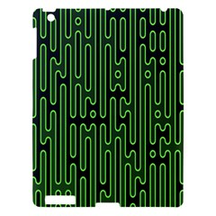 Pipes Green Light Circle Apple Ipad 3/4 Hardshell Case by Alisyart