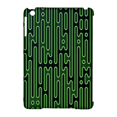 Pipes Green Light Circle Apple Ipad Mini Hardshell Case (compatible With Smart Cover) by Alisyart