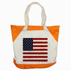 Flag United States United States Of America Stripes Red White Accent Tote Bag by Simbadda
