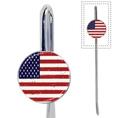 Flag United States United States Of America Stripes Red White Book Mark by Simbadda