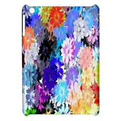 Flowers Colorful Drawing Oil Apple Ipad Mini Hardshell Case by Simbadda