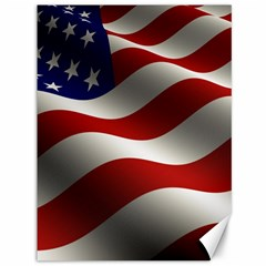 Flag United States Stars Stripes Symbol Canvas 36  X 48   by Simbadda