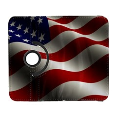 Flag United States Stars Stripes Symbol Galaxy S3 (flip/folio) by Simbadda