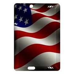 Flag United States Stars Stripes Symbol Amazon Kindle Fire Hd (2013) Hardshell Case by Simbadda