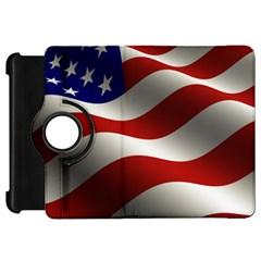 Flag United States Stars Stripes Symbol Kindle Fire Hd 7  by Simbadda