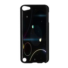 Glare Light Luster Circles Shapes Apple Ipod Touch 5 Case (black) by Simbadda