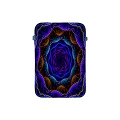 Flowers Dive Neon Light Patterns Apple Ipad Mini Protective Soft Cases by Simbadda