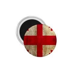 Georgia Flag Mud Texture Pattern Symbol Surface 1 75  Magnets by Simbadda