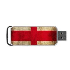 Georgia Flag Mud Texture Pattern Symbol Surface Portable Usb Flash (two Sides) by Simbadda