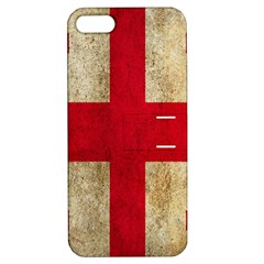 Georgia Flag Mud Texture Pattern Symbol Surface Apple Iphone 5 Hardshell Case With Stand by Simbadda