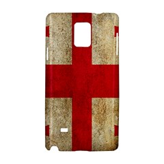 Georgia Flag Mud Texture Pattern Symbol Surface Samsung Galaxy Note 4 Hardshell Case by Simbadda