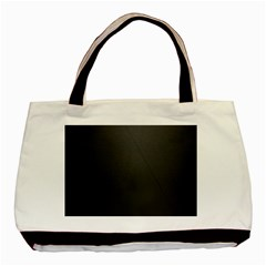 Leather Stitching Thread Perforation Perforated Leather Texture Basic Tote Bag by Simbadda