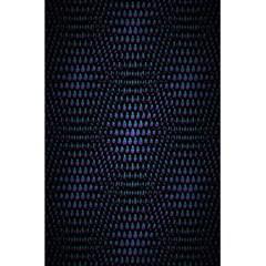 Hexagonal White Dark Mesh 5 5  X 8 5  Notebooks by Simbadda