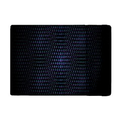 Hexagonal White Dark Mesh Ipad Mini 2 Flip Cases by Simbadda