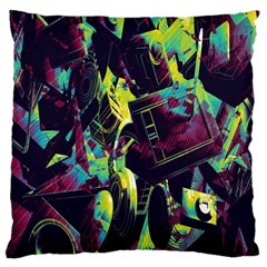 Items Headphones Camcorders Cameras Tablet Large Cushion Case (two Sides) by Simbadda