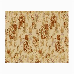 Patterns Flowers Petals Shape Background Small Glasses Cloth by Simbadda