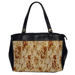Patterns Flowers Petals Shape Background Office Handbags by Simbadda