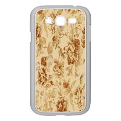 Patterns Flowers Petals Shape Background Samsung Galaxy Grand Duos I9082 Case (white) by Simbadda