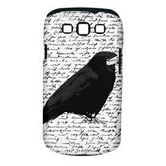 Black Raven  Samsung Galaxy S Iii Classic Hardshell Case (pc+silicone) by Valentinaart