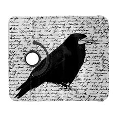 Black Raven  Galaxy S3 (flip/folio) by Valentinaart