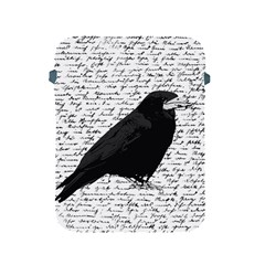Black Raven  Apple Ipad 2/3/4 Protective Soft Cases by Valentinaart