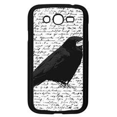 Black Raven  Samsung Galaxy Grand Duos I9082 Case (black) by Valentinaart