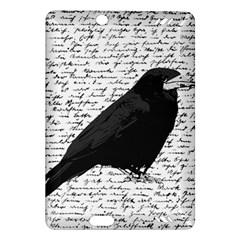 Black Raven  Amazon Kindle Fire Hd (2013) Hardshell Case by Valentinaart