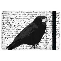 Black Raven  Ipad Air 2 Flip by Valentinaart