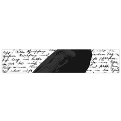 Black Raven  Flano Scarf (small) by Valentinaart