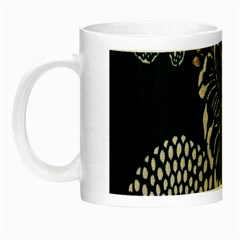 Patterns Dark Shape Surface Night Luminous Mugs by Simbadda