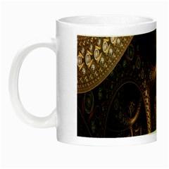 Patterns Dive Background Night Luminous Mugs by Simbadda
