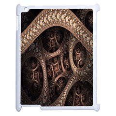 Patterns Dive Background Apple Ipad 2 Case (white) by Simbadda