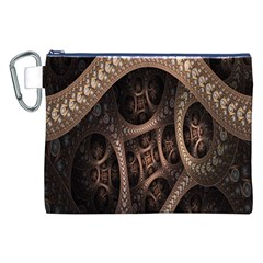 Patterns Dive Background Canvas Cosmetic Bag (xxl) by Simbadda