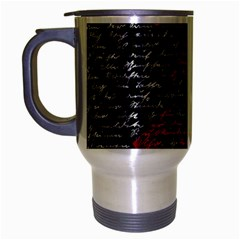 Communism  Travel Mug (silver Gray) by Valentinaart