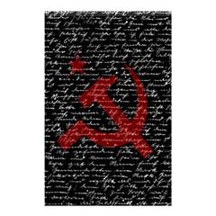 Communism  Shower Curtain 48  X 72  (small)  by Valentinaart