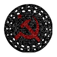 Communism  Ornament (round Filigree) by Valentinaart