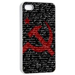 Communism  Apple Iphone 4/4s Seamless Case (white) by Valentinaart