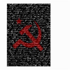 Communism  Small Garden Flag (two Sides) by Valentinaart